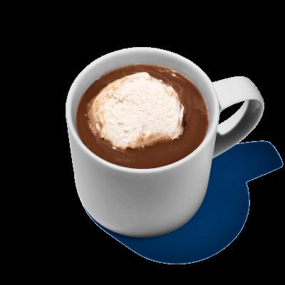 Whipped hot chocolate recipe