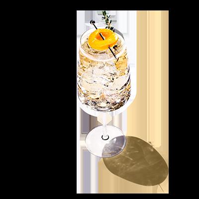 Apricot honeysuckle spritz recipe